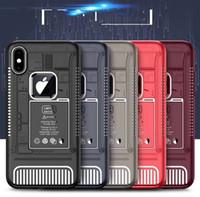 personalisierte handy fällen für iphone großhandel-Gedenk klassische Perspektive hintere Abdeckung Silikon Anti fallen personalisierte kreative Handy-Fall iPhone X / XS max Xr 8 7 6 / 6s plus