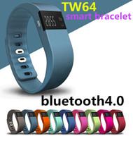 Wholesale healthy message - TW64 smart bracelet measuring step loss prevention bluetooth movement watch sleep monitoring healthy bluetooth movement smart braceletIOS A