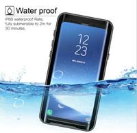 Wholesale Armor Series - Waterproof Armor Case For Samsung Galaxy S9 Plus Redpepper Dot Series IP68 Swimming Slim Dustproof Shockproof Phone Full Cover Retail packag