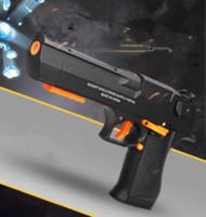 Wholesale Eagle Plastic - 2018 New Desert eagle blaster gun toy gel ball pistol gun toy