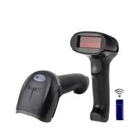 Wholesale range reader - Handheld Wireless Barcode Scanner Reader long range Cordless frequency USB Laser Scanner Laser scan for inventory - RD-1908