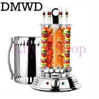 ingrosso macchina per grill-DMWD Forno elettrico senza fumo barbecue BBQ kebab macchina rotante grill rotazione automatica girarrosto Spiedini di agnello domestico arrosto