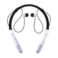 ohr stereo kopfhörer samsung groihandel-HBS 900 HBS-900 Wireless Sport Neckband Headset In-Ear-Kopfhörer Bluetooth Stereo-Ohrhörer für iPhone X XR XS MAX Samsung S8 S9 HINWEIS 8