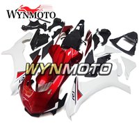 Wholesale customize yzf r1 - Full Fairings For Yamaha YZF1000 R1 2015-2016 15 16 Injection ABS Motorcycle Motorbike Gloss Red White Bodywork Covers Customized Hulls NEW