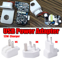 Wholesale original wall charger iphone for sale - Original AAA Quality A W US EU UK USB Power Adapter Travel Wall Charger for i8 IX s Plus iPad Air MINI