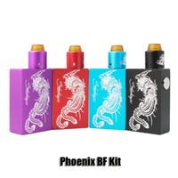 Wholesale Feeder Kits - Steelvape Phoenix BF Squonker Kit 18650 20700 Battery Bottom Feeder Box Mod 7.5ml Squonk Bottle Vaporizer Kits