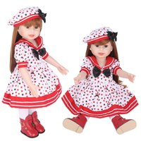 Wholesale silicone for clothing for sale - Girl Doll Apparel Accessories For inch Princess Designer Dressing Handmade Soft Silicone Clothes Lifelike Collector Hot Sale nh WW