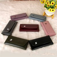 Wholesale Korean Fashion Dresses For Women - Designer Wallets Purse For Women Soft PU Leather Envelope Bag Bi-fold Hasp Wallet Ladies Slim Credit Card Holders With 7 Colors Selection