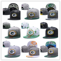 Wholesale packers green - Green Bay fashion packer baseball cap 100% Cotton Luxury brand caps Embroidery hats 6 panel snapback hat visor gorras casquette
