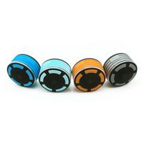 modetelefon mini großhandel-Art und Weise LED imprägniern Telefon-Laptop-drahtlose Bluetooth-Duschlautsprecher-Musik-Subwoofer-bewegliche Mischungs-Farbe neu