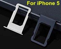 kostenlose iphone 5c sim karte großhandel-Freier DHL für iPhone 5 5s 5c SE SIM-Karten-Behälter sim Halter, der ursprünglichen Behälter ersetzt