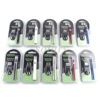 vertex zerstäuber großhandel-Neue Vorheizbatterie Blisterpack 5 Farben 350mAh Vertex Vorheizbatterie mit variabler Spannung für dicken Ölzerstäuberbehälter CE3 G2 Vapes