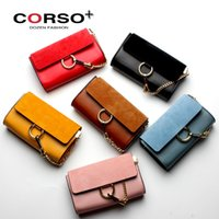 Wholesale Cloe Bag - (with logo $154)Top Quality Flap Genuine Leather Mini Shoulder Bags Single Women Solid Hasp Cloe Nubuck Chain Small Bag