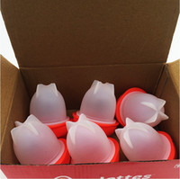 Wholesale Egg Packing - Silicone Egglettes Egg Cooker Hard Boiled Eggs without the Shell For Egg Tools Pack