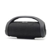 bluetooth drahtloser boombox großhandel-Mini Boom Box Außen HIFI Bass Säulenlautsprecher drahtlose Bluetooth-Lautsprecher Boombox Bluetooth Lautsprecher Stereo Audio
