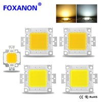 Wholesale 1Pcs LED W W W W W W W Power lamp Integrated Chip light Source COB SMD Spotlight Bulb Floodlight