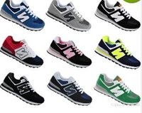 Wholesale New Generation Sports - New Four generations admission men and women balanced casual sports shoes lovers shoes running shoes size 36-45