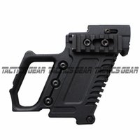 Wholesale tactical magazines - Nylon fiber magazine Tactical Pistol Stock Adapter Glo ck Edition for G17 G18 G19 Grip