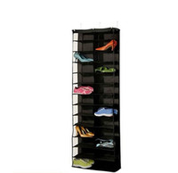 Wholesale home shoes storage resale online - 26 Lattice Storage Hanging Bag Non Woven Fabric Closet Shoe Pouch Multi Layers Stereo Organizer For Home my XB