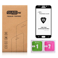 Wholesale tempered glass samsung galaxy a8 for sale – best 5D Curved Glass For samsung J7 PRO Screen Protector Oleophobic coating H Toughened For samsung A8 PLUS Tempered glass Full glue