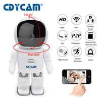 Wholesale Remote Robot Camera - CDYCAM Robot IP Camera HD WIFI Baby Monitor 960P 1.3MP CMOS Wireless CCTV P2P Audio Security Remote Home Cam IR Night Vision