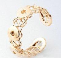 pulsera de una dirección diy al por mayor-One Direction Bracelets Noosa Pulsera de alta calidad DIY Pulseras con botón a presión de jengibre para el más nuevo Metal Snap Button Bracelet b106