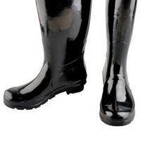 Wholesale Tall Rainboots - Women High Tall Rain Boot Women Wellies Rainboots Ms. Glossy Wellington Rain Boots Wellington Knee Boots Fast Delivery