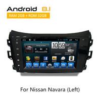 tv nissan оптовых-автомобильный GPS блок с Радио Nissan автомобильный Dvd Gps для Navara (слева) 2015 встроенный GPS навигация / Bluetooth Wifi 3G TV радио ipod