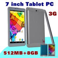 Wholesale inch mtk6572 dual core phablet android resale online - 40X DHL inch quot G Phablet Android MTK6572 Dual Core GB MB Dual SIM GPS Phone Call WIFI Tablet PC Bluetooth B PB
