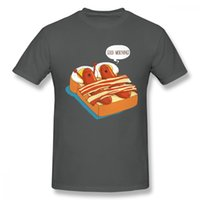 Wholesale unique printed bedding for sale - Group buy Leisure Breakfats In Bed T Shirt For Man Leisure Unique Design For Boy Graphic Top Tees Gift T Shirt Birthday