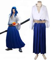 Wholesale Lol Cosplay - King of glory LOL SNK Samurai Spirits Ukyo Tachibana Kimono Game Cosplay Costume