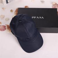 ingrosso ciotole di protezione della baseball-Berretto di lusso di alta qualità di tela uomini donne cappello all'aperto Sport tempo libero Strapback cappello stile europeo designer cappello di sole berretto da baseball di marca con scatola