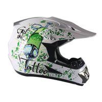 cores do capacete da motocicleta venda por atacado-Novo modelo de corrida capacetes integrais / capacetes de moto off-road Ciclismo Equipamento de proteção Capacetes de ciclismo Capacetes ao ar livre windpoof 7 cores