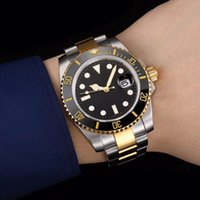 Wholesale gold sub watch - High quality luxury men's sports brand watch RO sub master 116613-LN-97203 8DI 40MM Standard Black Dial Gold Strap 2836 Automatic Movement