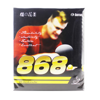 mejor tenis de mesa de goma al por mayor-2x Gomas de tenis de mesa KOKUTAKU 868 aprobadas por ITTF, caucho de mesa Best Control