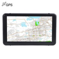 Discount audio video navigation - Truck Car GPS Navigation Navigator 7 inch Touch Screen Win CE 6.0 E-book Video Audio Game Player with Free Pre-installed Map Game Player