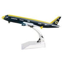 Wholesale metal plane for sale - Group buy New hot sale Malaysia AirAsia Naza A320 cm alloy metal model aircraft child Birthday gift plane models chiristmas gift