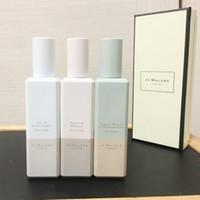 chéri de qualité achat en gros de-Haut Qualité Jo Malone London Bleuet Blé Vert Barely Green Primrose Parfum De Miel parfum 30ml 2018 chaud nouveau