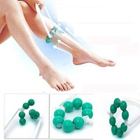 Wholesale massager for arms - Arms Legs Slimming Massager Roller Ball Massager Handy Arm Leg Foot Massager Tool for Circulation 360 degree