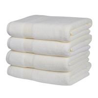 grandes serviettes de toilette achat en gros de-Serviette de bain Set (Beige), 2 serviettes de bain, grande taille (27 * 55 pouces). Serviette de bain, Wrap pour hommes et femmes, Absorbant et doux. Lavage à la machine