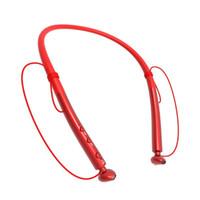rauschunterdrückung kopfhörer drahtloses bluetooth großhandel-Leichter Nackenbügelkopfhörer der wasserdichten Sport-Bluetooth-Kopfhörer HBQ Q14 drahtlosen mit MIC Geräuschannullierung 30pcs / lot