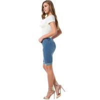 más el tamaño de pantalones cortos de cintura alta al por mayor-Fitibest XXXL Summer Denim Woman Jeans Pantalones Sexy Ladies Plus Size Cintura alta Longitud de la rodilla Shorts