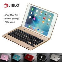 ipad de bluetooth de teclado de caixa de tabuleiro venda por atacado-Teclado sem fio bluetooth tampa da caixa de proteção flip para apple ios system ipad mini 1 2 3 tablet 7.9inches