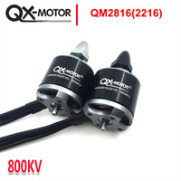 hdmi 2d 3d оптовых-QX-мотор высокое качество QM2816 (2216)мотор 810 / 1100KV CW CCW для мультикоптера Quad-Copter то же самое с EMAX mt 2216