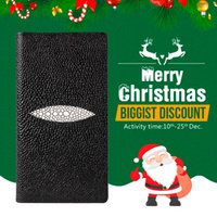 Wholesale Exclusive Cases - Sikai Exclusive Wallet Case For Iphone 7 7plus 6s 6s Plus Stingray Manta Ray Skin Wallet Leather Case For Couple Phone Case