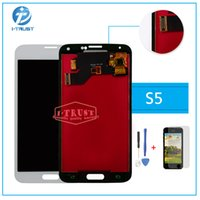 Wholesale Galaxy Repair - TFT LCD or Display For Samsung S5 G900M G900F G900A i9600 G900 LCD Touch Screen Repair Replacement With free repaire tools and Free shipping