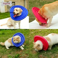 Wholesale e collar dogs resale online - Pet Cats Dogs Health Recovery Elizabethan Collar Protective Medical Cone E Collar for large small dogs collar perro accessories