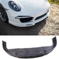 углеродное волокно porsche оптовых-VO-R Стиль Углеродного волокна Передний Губы Спойлер, Пригодный Для Porsche 911 Carrera991.1