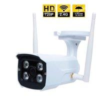 câmeras sem fio venda por atacado-Segurança sem fio de Wifi da câmera do IP da segurança para a definição alta do ar livre contra a detecção de movimento 1280x720P da água