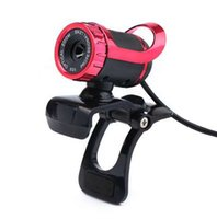 Wholesale webcam pc camera microphone resale online - Web Camera USB Degree Webcam With Sound Absorption Microphone For Computer PC Laptop